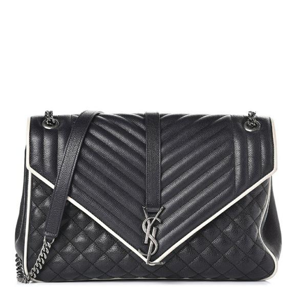 9662507036eb1 Saint Laurent Bags | Sale Large Monogram Envelope | Poshmark